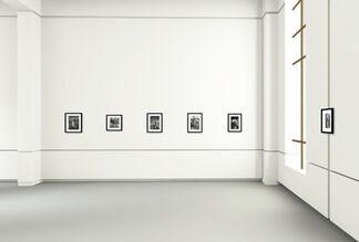 Black & White Photography. A live show of the best selected art prints, installation view