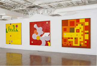 Hassel Smith COSMOTIANA: The Measured Paintings (1970 1986), installation view