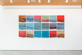 Luís Coquenão   Marca D'Água [Watermark], installation view