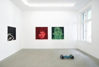 Endless Lows, Breaking High - Thomas Lawson, Alexej Meschtschanow, Jesse Mockrin, Marijn Van Kreij, installation view