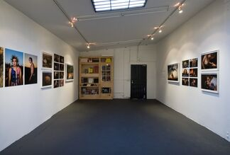 The Study of Post Pubescent Manhood, installation view