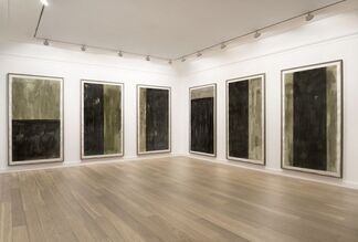 Günther Förg, The Large Drawings 1989-1990, installation view