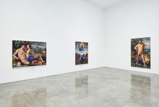 Jeff Koons: Gazing Ball Paintings, installation view