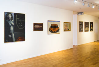 GREGOIRE MÜLLER - ALL OVER THE PLACE - Paintings 1978-2018, installation view