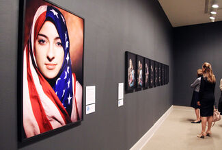 She Who Tells a Story: Women Photographers from Iran and the Arab World, installation view