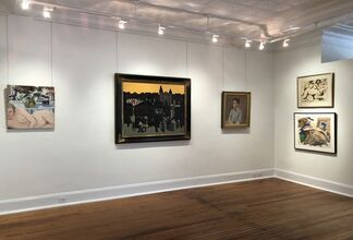 Long Island Painters: A Survey, installation view