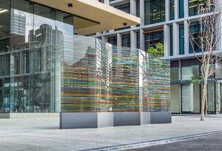 Pascal Dombis' Irrational Geometrics, installation view