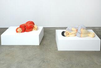 Clay Bodies: Contemporary International Figurative Sculpture, installation view