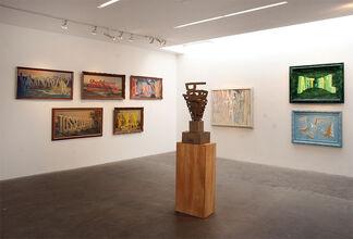 Wayne White Masterworks: 2000-2009, installation view