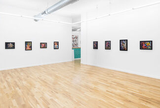 Until the beasts and all the mountain are wild with divinity, installation view