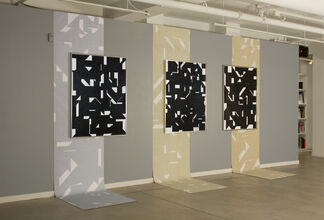 John Monteith 'At Night All Cats Are Grey', installation view