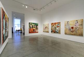 Hung Liu:  Tom Boy, installation view