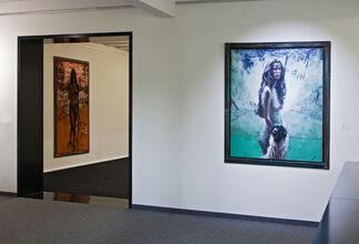Sam Drukker - Figures, installation view