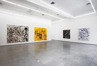 """David Ratcliff - """"Portraits and Ghosts"""", installation view"""