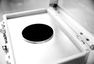 Frederik De Wilde: NanoBlck-Sqr #1, installation view