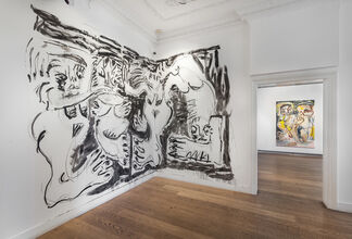 Daniel Crews Chubb, 'Zumbie and Belfie', installation view