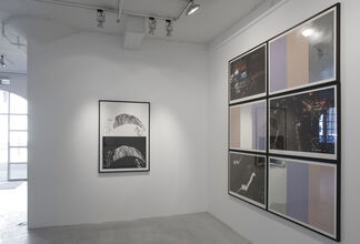 Erik A Frandsen Real Time (4 years working with Lithography and woodcuts), installation view