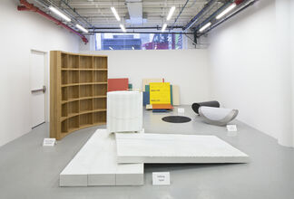 'No-Thing': an exploration into aporetic architecture, installation view