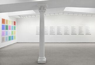 JENNY HOLZER: 1977 - 2013, installation view
