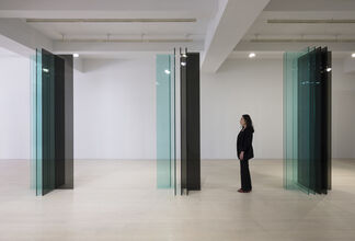 "Robert Irwin: New ""SCULPTURE/CONFIGURATIONS"", installation view"