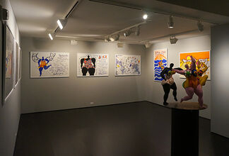Californian Diary, installation view