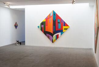 THOMAS BURKE: New Paintings, installation view