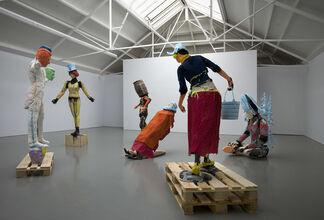 Folkert de Jong, The Man from Delft, installation view