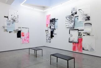 """Suzanne McClelland - """"Call with Information"""", installation view"""