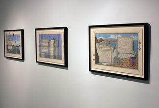 """""""Sandow Birk: American Qur'an"""", installation view"""