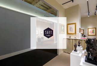 BAILLY GALLERY at Fine Arts Paris 2018, installation view
