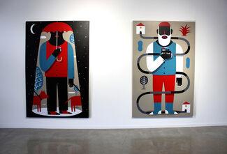 'Match Mismatch' Solo Show  by Agostino Iacurci, installation view