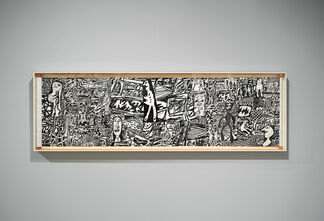 Jean Dubuffet, installation view