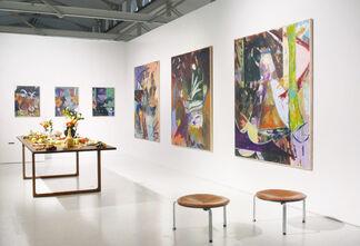V1 Gallery at Market Art Fair 2017, installation view