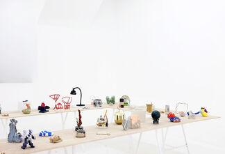 The Paperweight Show, installation view