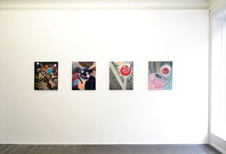 PHILIP GRÖZINGER - For A Fleeting Moment, installation view