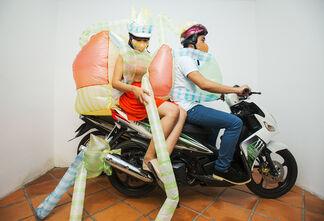 Sàn Art at Art Stage Singapore 2016, installation view