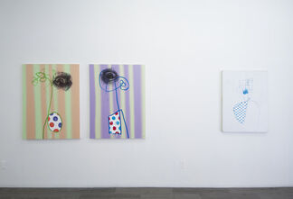 Ed Valentine - Paintings, installation view