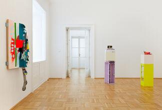 JESSICA STOCKHOLDER Snug Parting, installation view