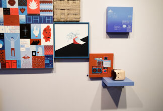 AND YET NOT YET works by Jim Houser and Adam Wallacavage, installation view