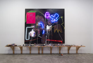 Thrush Holmes: All Lit Up On Wine, installation view