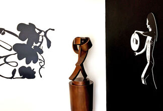Wall Sculpture at Meyerovich, installation view