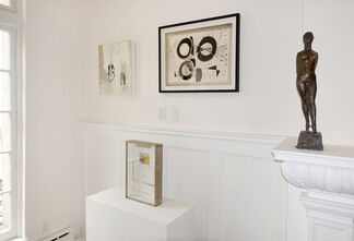 In the Absence of Color: Artists Working in Black and White, installation view
