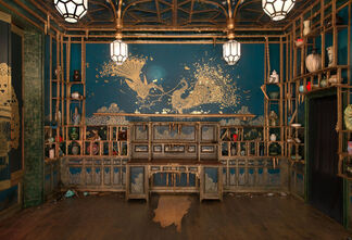 Peacock Room REMIX: Darren Waterston's Filthy Lucre, installation view