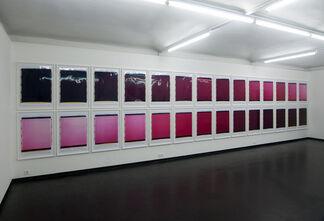 Inge Dick. Polaroids 14.6.1996 – 16.8.2006, installation view
