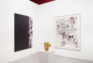 Simon Lee Gallery at Art Basel 2015, installation view
