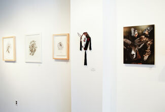 Growth//Decay: A Dual City Group Show, installation view