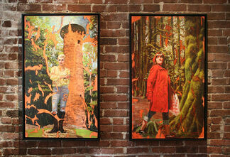 The Tall Tale: Folk, Fantasy, and Fear in Art of the Fairy Tale, installation view