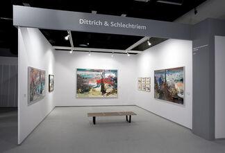 DITTRICH & SCHLECHTRIEM at Cologne Fine Art 2014, installation view
