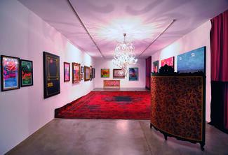 "Flavio Favelli ""ManattHan Club"", installation view"