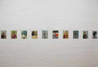 Delivering Newspapers, installation view